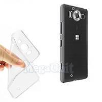 Прозрачный силиконовый чехол для Microsoft (Nokia) Lumia 950