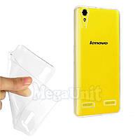 Прозрачный силиконовый чехол для Lenovo A6000 / A6010