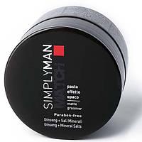 Nouvelle Matte Groomer паста с матирующим эффектом для волос для мужчин SIMPLY MAN 100 мл