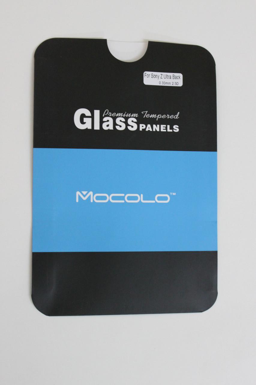 Защитное стекло Sony Xperia Z Ultra XL39h Back (Mocolo 0,33мм)