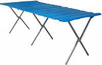 Стол для торговли складной 2.5 х 1 (м).