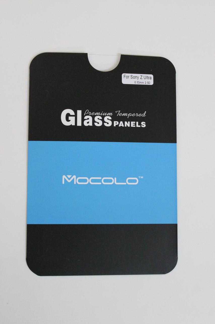Защитное стекло Sony Xperia Z Ultra XL39h Front (Mocolo 0.33mm)