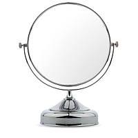 Зеркало для макияжа настольное №636 металлическое