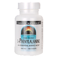 Л-фенилаланин / L-Phenylalanine, 500 мг 100 таблеток