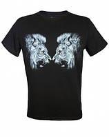 Молодежная  летняя футболка TWO LIONS