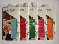 Наклейки для ногтей водные Nail foils замшевые