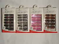 Наклейки для ногтей Make up на водной основе