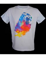 Стильная футболка AMULET LION COLORED