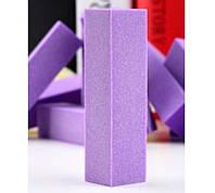 Баф для полировки ногтей фиолетовый