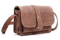 Кожаная мужская борсетка-сумка Визитка-4