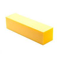 Баф для полировки ногтей желтый