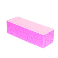 Баф для полировки ногтей розовый
