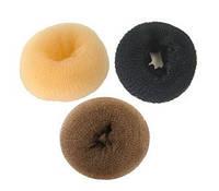 Резинка мочалка для волос №5 70см корричневая