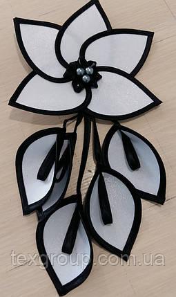Декор для штор цветы тканевые цв-2, фото 2