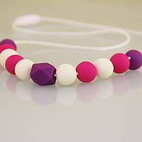 Слингобусы Петуния гризунци ожерелье Love Carry ECO из пищевого силикона без запаха и вкуса
