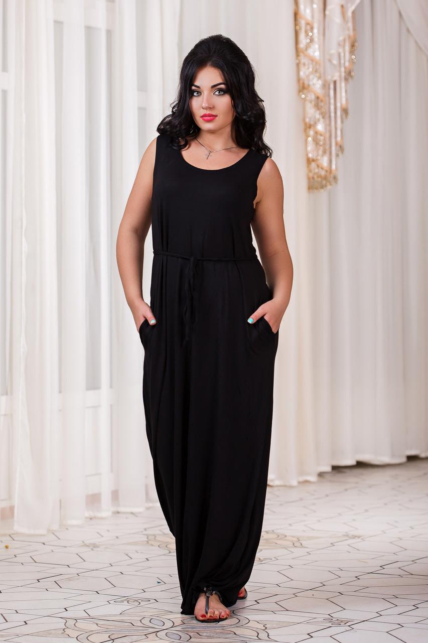 Д301 20 Платье длинное размеры 48-56
