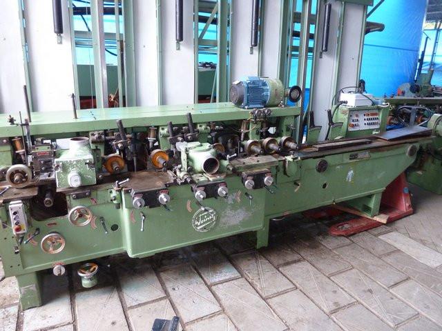 Четырехсторонник  WEINIG модель Unimat PFA 14N на 6 шпинделей обработка 180х120мм - ZABRAMA в Ровненской области