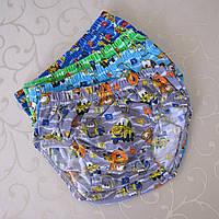 """Трусики  для мальчиков """"Тачки"""", р/р M (5/7 лет).  Детские трусики, трусы для детей, трусы для мальчиков."""