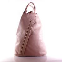 (Pirouette) Итальянский кожаный рюкзак BIC0-217 розовый