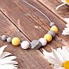 Слингобусы Фрезія гризунци ожерелье Love Carry ECO из пищевого силикона без запаха и вкуса
