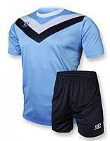 Футбольная форма игровая Europaw 004 (голубой\т.синий)
