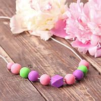 Слингобусы Гіацинт гризунци ожерелье Love Carry ECO из пищевого силикона без запаха и вкуса