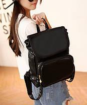 Аккуратный деловой рюкзак ранец, фото 3