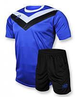 Футбольная форма игровая Europaw 004 (синий\черный)