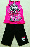 Комплект на девочку, Пижама на девочку Монстер Хай  Mattel, костюм на девочку
