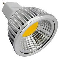 Светодиодная лампа MR16 3W GU 5.3 COB High Power 220В Холодный белый, фото 1