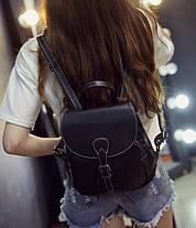 Стильный городской ретро рюкзак, фото 3