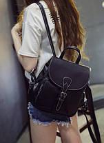 Стильный городской ретро рюкзак, фото 2
