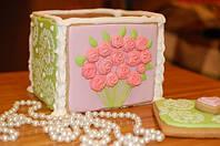 Оригинальные подарки на день рождения - пряничная шкатулка