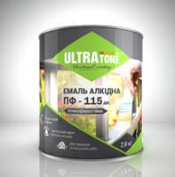 "Эмаль ПФ-115 дк ""ULTRAtone"" темно-зеленая 0,9кг"