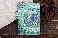 Обложка на паспорт из экокожи.