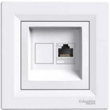 Телефонная розетка RJ11 ASFORA SCHNEIDER ELECTRIC (БЕЛЫЙ) EPH4100121 - ООО «Электро-98» в Киеве