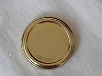 Крышка закаточная твист-офф размер 63 мм золото, фото 1