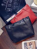 Вместительная сумка со змеиной мозаикой, фото 2