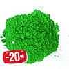 Фарба Холі (Гулал), Зелена, фасування 75 грам, суха порошкова фарба для фествиалів, флешмобів, фото