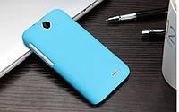 Пластиковый чехол для HTC Desire 310 голубой