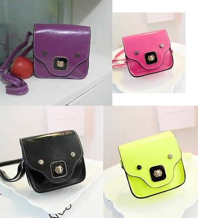 Распродажа Удобная яркая мини сумка сундучок, фото 2