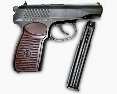 Пневматический пистолет PM KWC KM44DHN (SAS Makarov)