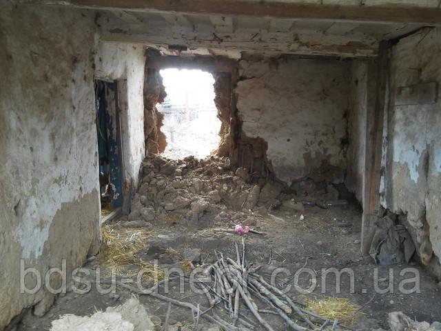 Фото демонтажа стен в Днепре