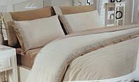 M010971 Комплект постельного белья Altinbasak лён cream 200x220