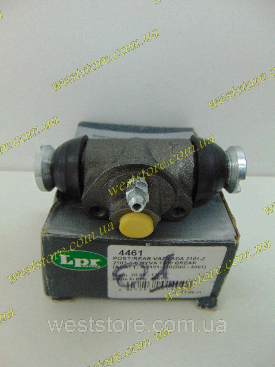 Цилиндр тормозной задний рабочий ЗТЦ Ваз 2101 2102 2103 2104 2105 2106 2107 LPR 4461 Италия