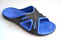 Мужские сланцы синие р( 40-45)