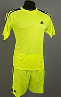 Футбольная форма игровая Adidas Lime (Адидас лайм), фото 1
