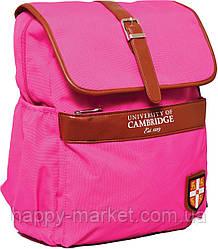 """Рюкзак ортопедический подростковый CA071 """"Cambridge"""", розовый 552970"""