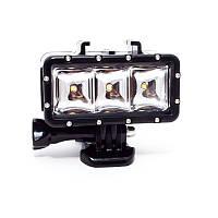 Подводный свет для GOPRO - 3 LED