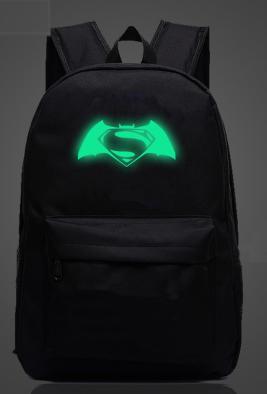 Светящийся фосфор рюкзак Бэтмен против Супермена